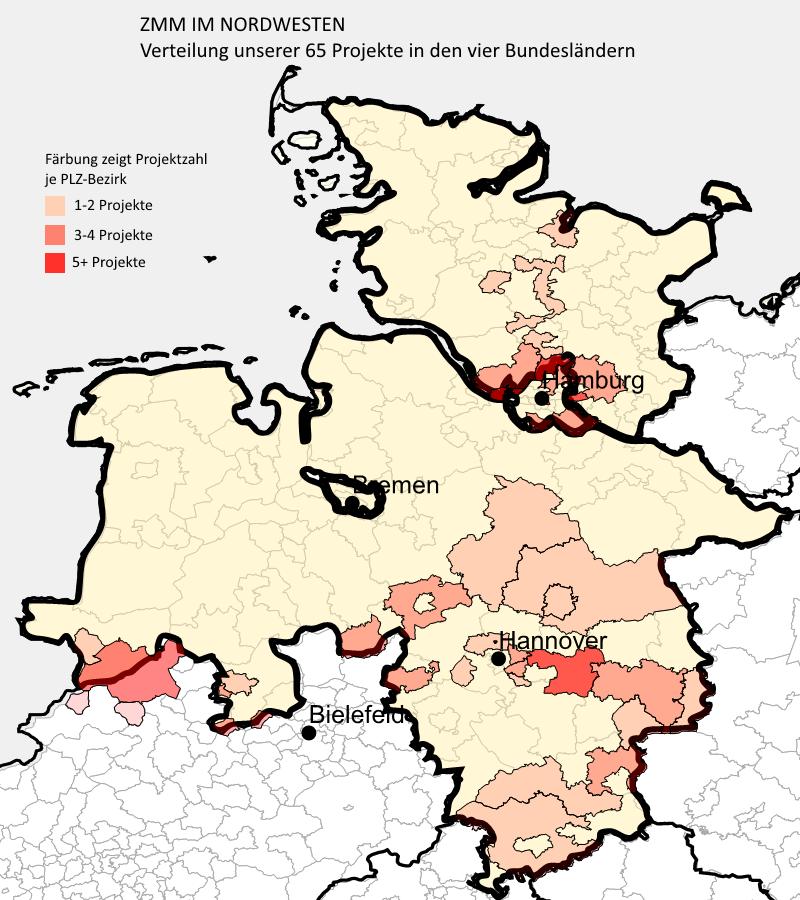 Nordwesten Deutschlands